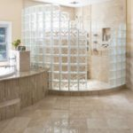 Glass Block Shower | Bathroom Remodel | Waukesha WI | Schoenwalder Plumbing