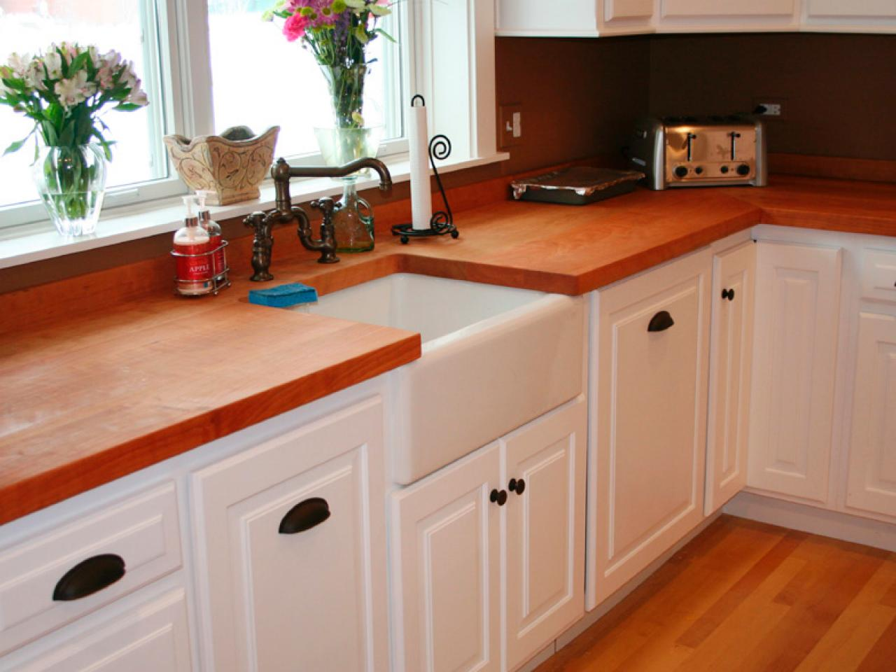 Kitchen hardware accents cabinetry