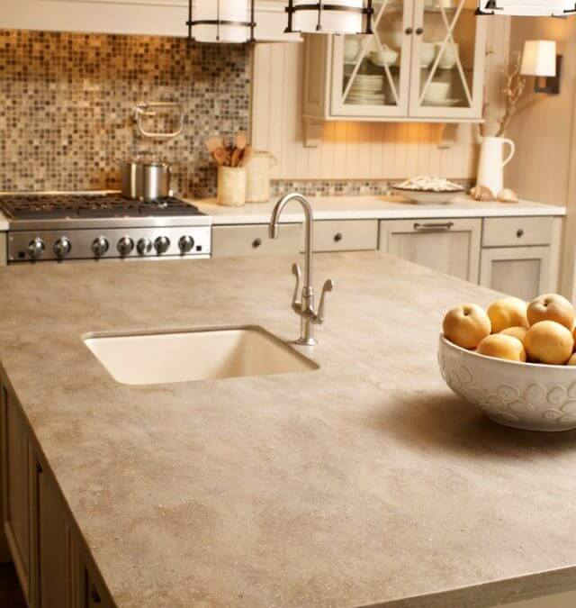 A Kitchen Island Sink Offers Convenience
