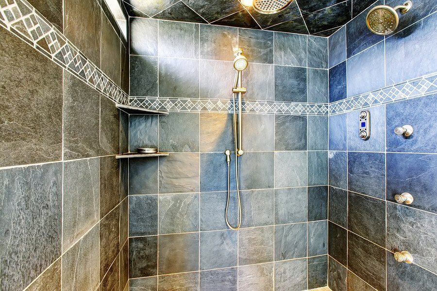 Steam Shower Leads High-tech Bathroom Interest