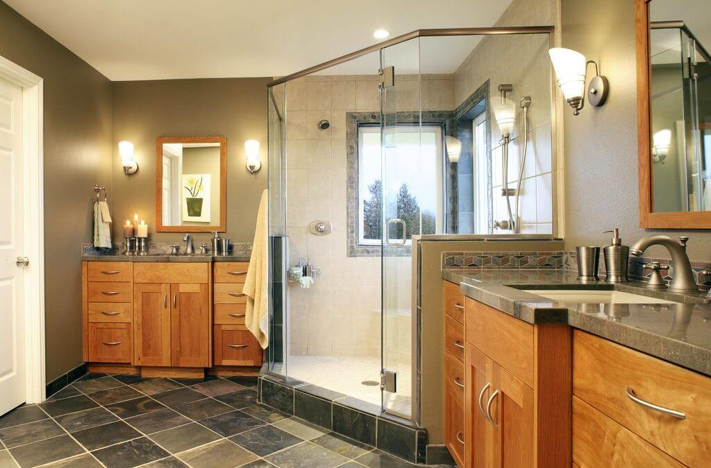 Craftsman Style Bathroom – Warm And Welcoming