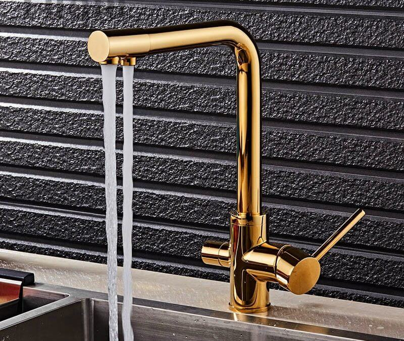 The Kitchen Faucet Evolves From Hardware To 'Smart' Design Feature